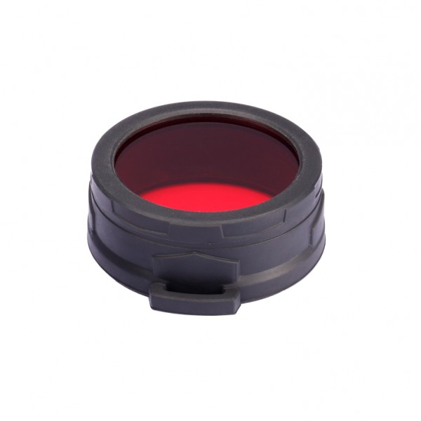 Nitecore NFR60 red filter, diffused (TM11, TM15, MH40) (NFR60)