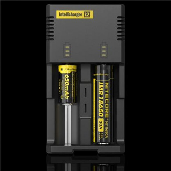 Nitecore Intellicharger i2 v2 universal charger (Li-ion. Ni-Mh, Ni-Cd) (i2)