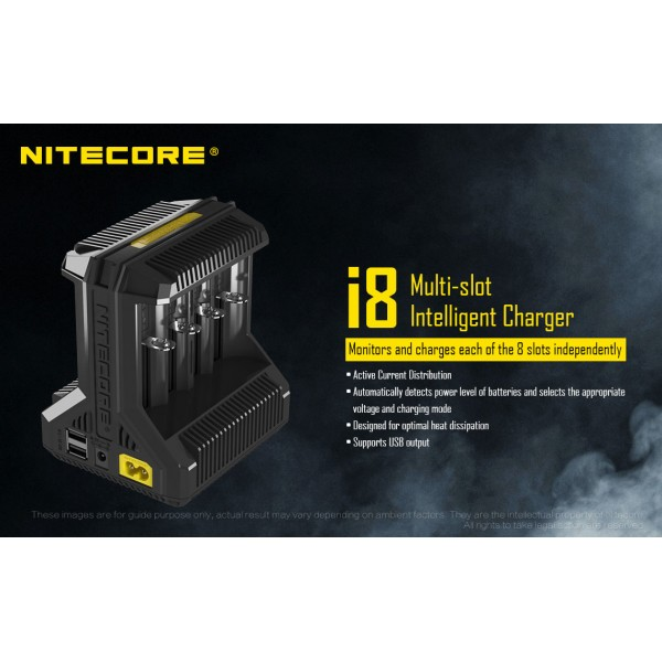 Nitecore i8 Intellicharger (i8)